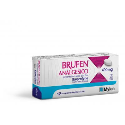 BRUFEN ANALGES*12CPR RIV 400MG