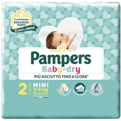 PAMPERS BD DOWNCOUNT MINI 24PZ